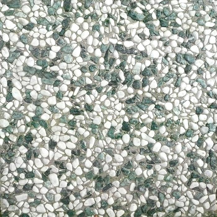 Bianco e verde - Ciottolo lavato arrotondato