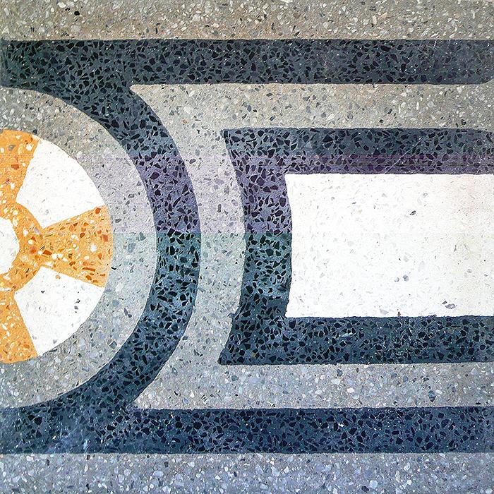 Croce di malta - Bordatura