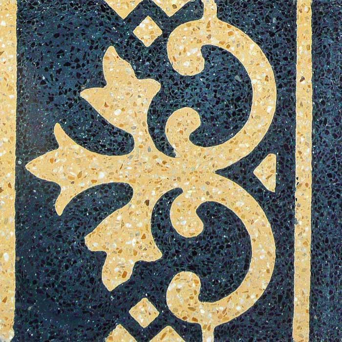 Decoro bordatura Giglio pavimenti interni - Sam pavimenti