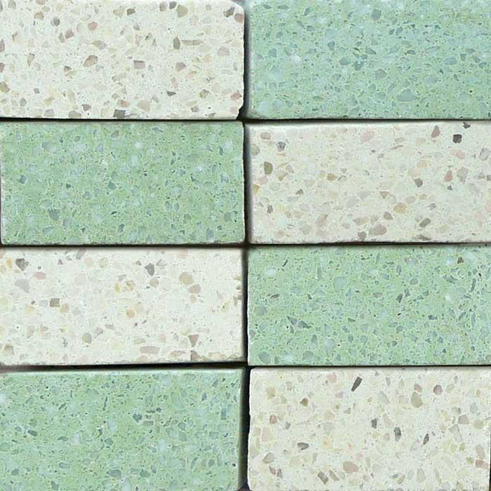 Tessere 5x2,5 - Mosaico su rete