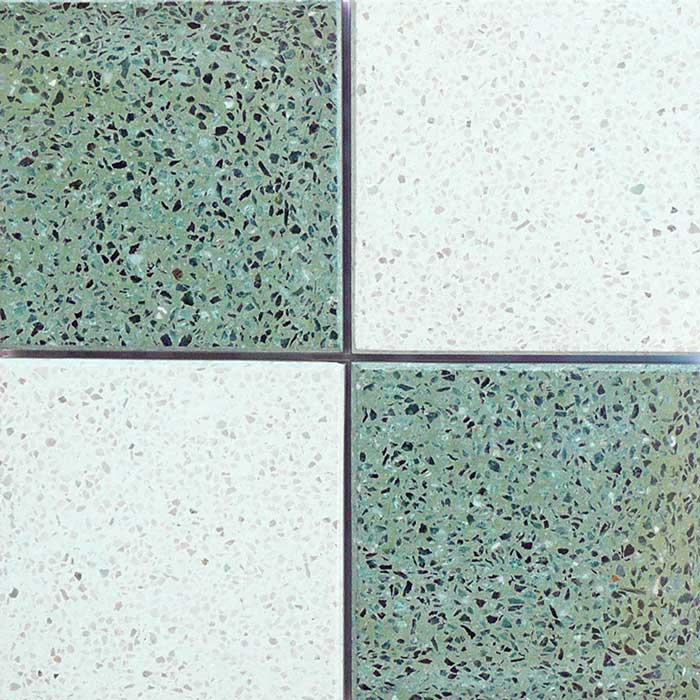Verde e bianco zandobbio - Graniglie